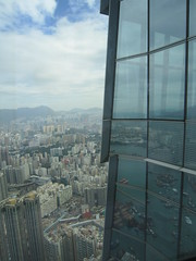 IMG_0557 (Sweet One) Tags: icc sky100 observationdeck view city skyline buildings towers hongkong harbour