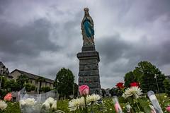 Our Lady of Lourdes (julesnene) Tags: basilicaofourladyoftheimmaculateconception canon7dmark2 canon7dmarkii france juliasumangil lourdes ourladyoflourdes rosarybasilica sanctuary sanctuaryofourladyoflourdes julesnene travel occitanie fr immaculateconception travelgirljulia