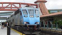 Tri-Rail P671-09 12-9-17 (tommy4trains) Tags: trirail commuterrail commutertrain brookville bl36ph fortlauderdalestation fortlauderdale florida