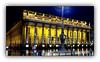 Pluie sur le Grand Théâtre de Bordeaux (Jean-Louis DUMAS) Tags: théâtre bordeaux architecture nightshot night monument building architecte yellow pluie rain