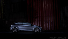 Light Paint Renault Sport Megane RS (KevinChallis) Tags: car lights lightpainting painting fuji fujifilm renault megane xt20 1855 28 dark night