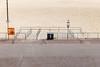 Gorleston Seafront (Number Johnny 5) Tags: lines tamron d750 nikon space bin gorleston mundane beach phone banal seafront railings 2470mm angles deserted phonebooth sign urban documenting seaside