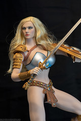 Arhian Updated Chest Armor (edwicks_toybox) Tags: 16scale tbleague arhian blonde executivereplicas femaleactionfigure phicen sword warrior