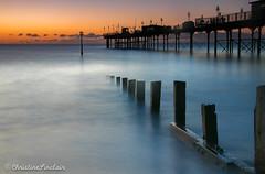 Teignmouth Pier at sunrise (C Sinclair) Tags: teignmouthpier groyne hightide devon teignmouthpiersunrise