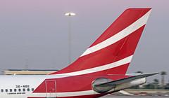 3B-NBE LMML 20-11-2017 (Burmarrad (Mark) Camenzuli) Tags: airline air mauritius aircraft airbus a340313x registration 3bnbe cn 268 lmml 20112017