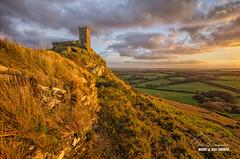 Upon this Rock II - Brentor (macdad1948) Tags: brentor sunset sky autumn stmichaelderupe church tor tavistock devon breathtakinglandscapes