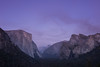After sunset (lvalgaerts) Tags: view tunnel yosemite el capitan dusk sunset evening rock climbing valley clouds fire smoke smog usa america wall landscape national park california autumn hiking hike half dome purple