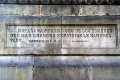 ANTONIO LÓPEZ I LÓPEZ (Yeagov_Cat) Tags: 2017 barcelona catalunya fredericmarés monumentaantoniolópezilópez plaçaantoniolópez plaçadantoniolópez venancivallmitjana 1876 marquésdecomillas banquer navilier esclavista empresari lluíspuiggener joanroigsolé rossendnobas francescpagèsserratosa 1944