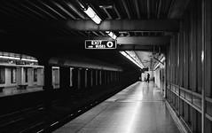 The shadow (hector_cbs) Tags: blackandwhite blancoynegro byn bnw people street streetphotography streetphotographer shadow light toronto canada ontario ttc monochrome subway train