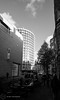 (g_holmes_) Tags: architecture modernism modernist brutalism brutalist betonbrut midcentury london people road city urban building monochrome tree sky onekemblestreet