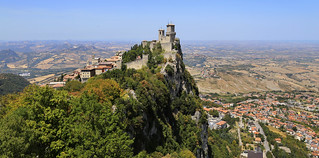 Guaita is one of  the three Towers of San Marino