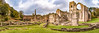 Fountains Abbey (Keith in Exeter) Tags: fountainsabbey ripon panorama ruins architecture ancient abbey monastery cictercian gradeilisted building nationaltrust landscape unesco world heritage site valley river