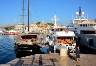 Cannes / Jetée Albert Edouard / Vieux Port