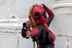 Deadpool woman (andrea.prave) Tags: luccacomics luccacomicsgames luccacomics2017 luccacomicsgames2017 2017 lucca luccacg luccacg17 luccacg2017 cosplayer cosplay costumi コスプレ marvel deadpool girl woman