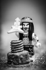 Heavy Metal (minifigphoto) Tags: lego legophotography minifigs kawaii minifigure macro toyphotography geek toyphotographers guitar bolt metal concert