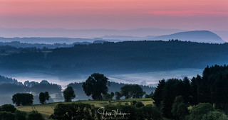 Sunrise Allegre, Auvergne, France