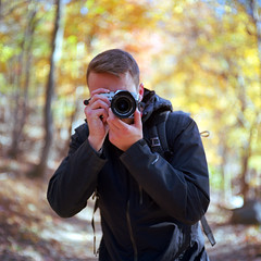 Steve (Daniel Regner) Tags: mamiya c330 kodak ektar 100 medium format film analog daniel regner steve celano photographer fujifilm fuji november 2017 autumn bokeh colors 6x6 80mm prime sekor c f28 square 120 epson v500 scanner harpers ferry east coast usa maryland heights trail hiking
