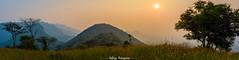 Stunning Pano (Sathiya Narayanan.M.M) Tags: landscape stunning panoroma sunset mountains countryside spectrum difference cliff mountain range salem tamil nadu india