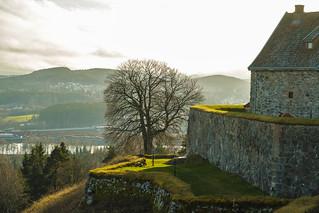 Kongsvinger fortress in November