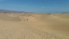 Dunes of Maspalomas Gran Canaria (woodytyke) Tags: gran canaria canary island islands holiday sun tourism spain see sand destination atlantic resort hotel woodytyke stephen woodcock photo photograph camera foto photography best picture composition digital phone colour color capture flickr view