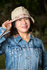 If you go down to the woods today (Pexpix) Tags: female hat portrait nikkorafs2470mmf28ged levis cute woman nikond850 offcameraflash jacket bobo girl lady 攝影發燒友