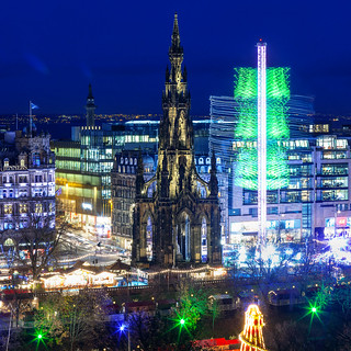Edinburgh - Christmas from The Mound 3