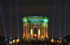 Chateau du Peyrou Montpellier (Marc ALMECIJA) Tags: peyrou light laser night pose long exposure montpellier fest fête lumière sony rx10m3 ciel nuit tour pierre