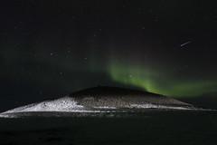 Certe notti (margot 52) Tags: islanda iceland islande auroraboreale stelle stellacadente northernlights jökulsárlón lagunaglaciale notte nuit night