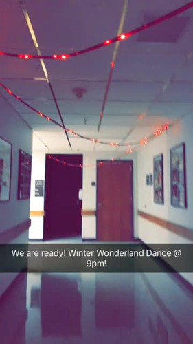 Video - ready for Winter Wonderland dance