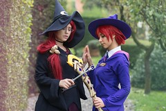 IMG_8758-1 (Mambrelli Marco Ph) Tags: littlewitchacademia streghe strega witch anime cosplay cosplayer palazzopfanner villapfanner luccaocmics lucca fantasy magia atsuko akko chariot ursulacallistis callistis shinychariot ursula croixmeridies croix atsukokagari