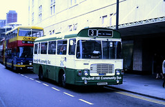 Slide 108-27 (Steve Guess) Tags: bristol avon england gb uk bus windmill hill community cityline lh ecw lcbs london country rph105l