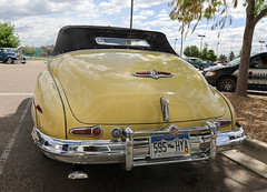 1948 Buick Roadmaster Convertible (coconv) Tags: car cars vintage auto automobile vehicles vehicle autos photo photos photograph photographs automobiles antique picture pictures image images collectible old collectors classic blart 1948 buick convertible 48 yellow tail lights roadmaster road master