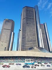 "Detroit ""Motor-City"" (abysal_guardian) Tags: detroit city michigan motorcity urban architecture building gmrenaissancecenter dogde chevtolet ford"