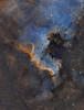 NGC 7000 - A fresh Look at a classic target (Paddy Gilliland @ Image The Universe) Tags: ngc7000 northamerica nebula ic space nebulae stars night astro astronomy astrophoto astrophotography ap lrgb rgb hubble cosmos texture abstract outdoor wide widefield nighttime sky dark colours ngc