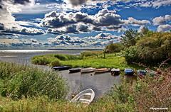 Kleiner Hafen (garzer06) Tags: wolken blau grün wasser hafen landschaft deutschland landschaftsbild vorpommernrügen landschaftsfoto mecklenburgvorpommern naturephoto vorpommern inselrügen naturfoto insel landscapephoto rügen landscapephotography landschaftsfotografie