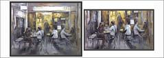 CONCURS-PINTURA-SANVISENS-SITGES-CONCURSOS-CATALUNYA-TERRASSA-CAFETERIA-VIDA-COTIDIANA-PINTURES-ARTISTA-PINTOR-ERNEST DESCALS (Ernest Descals) Tags: sitges cafeteria cafeteries cafeterias restaurant restaurantes capvespre atardecer luces llums concurs concursos concurso catalynya garraf cataluña pintura catalonia sanvisens concursdepinturasanvisens pintures pinturas vida life cotidiana terrassa terraza personas people gente persones escenas moments momentos quadres quadre cuadros cuadro pintar pintando pintor pintant pintores pintors seleccionados painting paintings coffeshop arte art artwork paint pictures plasticos artistas plastica artistes catalanes catalans barcelona painters artist artista ernestdescals painter restaurants