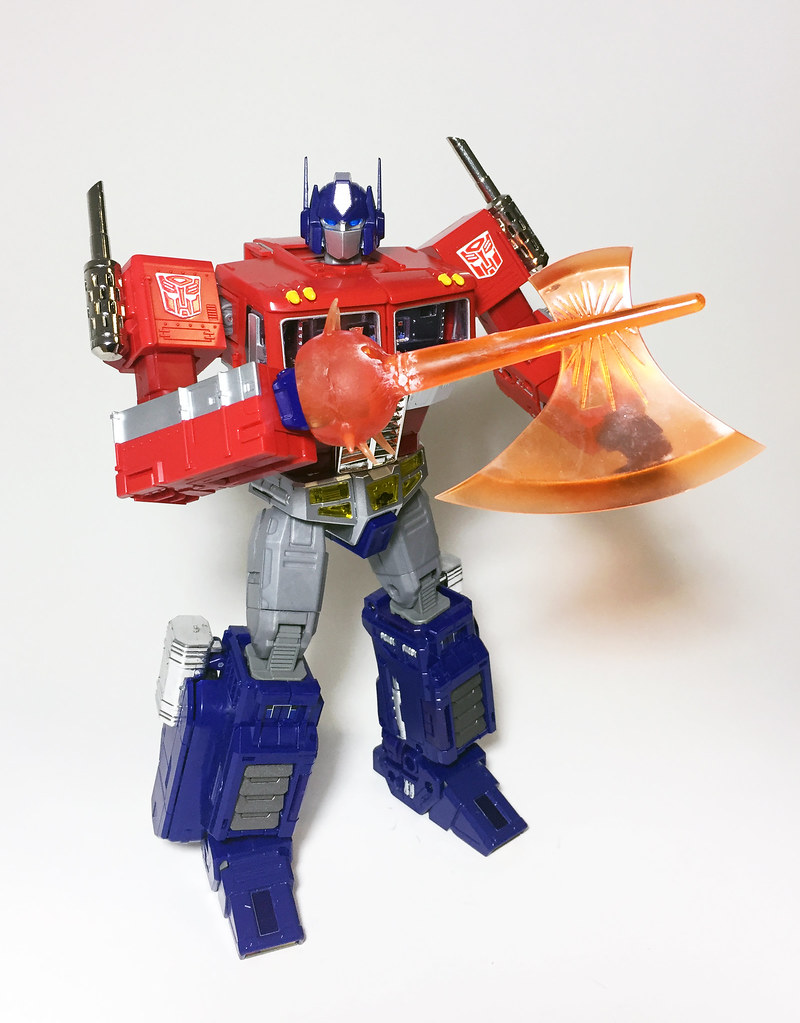 The Worlds Best Photos Of Mp10 And Takara Flickr Hive Mind Transformers Mp 10 Optimus Prime Convoy Modo Robot Fonchoabr Tags Masterpiece