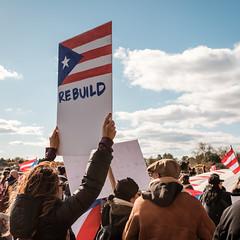 Rebuild (ep_jhu) Tags: protest crowds x100f classicchrome washington march sign puertorico flag fuji rebuild pr unitymarchforpuertorico dc fujifilm jonesact districtofcolumbia unitedstates us