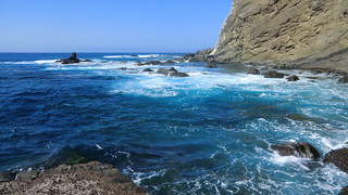 La Gomera (Spain's Canary Islands) - wild Atlantic @ La Dama