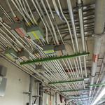 Various Conduits in the Ceiling of the Vault Structure's First Floor / Divers conduits dans le plafond de la structure de chambre forte du 1er étage thumbnail