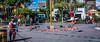 2017 - Mexico - Tlaquepaque - Jardin Hidalgo Buskers ( Voladores) (Ted's photos - Returns Early June) Tags: 2017 cropped guadalajara mexico nikon nikond750 nikonfx tedmcgrath tedsphotos tedsphotosmexico vignetting tlaquepaque tlaquepaquejardinhidalgo talquepaquemexico buskers streetscene street shadow shadows park plaza gardenhidalgo entertainers voladores