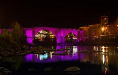 Puente Romano (Raymar Photo) Tags: ourense miño paisaje landscape rio river bridge noche atardecer nocturna nocturno sony a7r night sunset galicia canon50mm urbana exposure exposición urban
