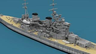 Microscale King George V WIP Update