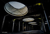 Golden Lane (Tim-Dallos) Tags: underground shadows perspective car park london golden lane barbican light windows portholes