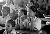 Coconut Water Foundation - Cambodia (lautxi) Tags: aguadecoco battambang cambodia child children school portrait camboya bw bn blancoynegro blackandwhite