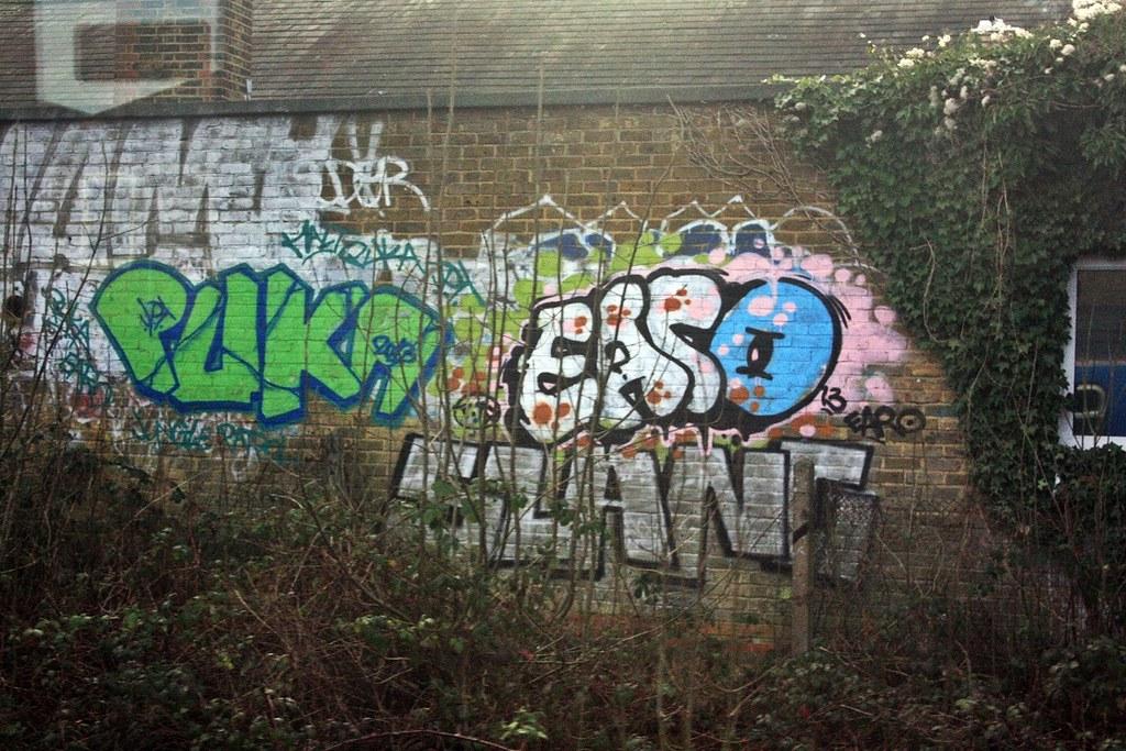 Verdens bedste fotos af graffiti og Slang - Flickr-5097