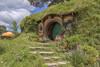 on the Hobbiton set - Bag End (PJDphotos) Tags: lordoftherings hobbiton bagend
