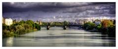 El Puente de Triana (mgarciac1965) Tags: triana sevilla seville seviglia guadalquivir andalucía andalucia andalusia españa spain spagne puente nubes