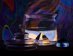 Alchemy (WilliamBee) Tags: stilllife december alchemy chemistry kitchen dark homedecor wallart beautiful magic