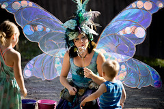 Bubble Fairy (Brian Bogovich) Tags: festival summer outdoors bubbles wings kids renfair fairy pennsylvania westernpa pa pittsburghrenaissancefestival costume pittsburgh fairywings westnewton unitedstates us